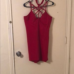 Sexy red dress (Charlotte Russe )